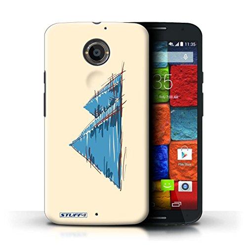 Kobalt® Imprimé Etui / Coque pour Motorola Moto X (2014) / La porte de Torii/Japon conception / Série Monuments Pyramides