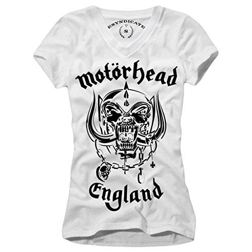E1SYNDICATE Motörhead WOMAN T-SHIRT S-L LEMMY KILMISTER MOTORHEAD