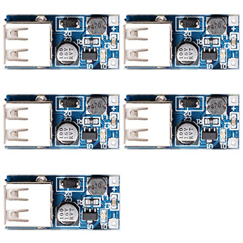 xcsourcer-5pcs-pfm-control-dc-dc-converter-step-up-boost-module-600ma-usb-charger-09v-5v-to-5v-power