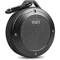 MIFA Altavoz Portátil Bluetooth Outdoor Manos Libres 1200 mAh Batería Li-ion y IP56 Impermeable y Anti-Polvo para iPhone, iPad, Samsung, Nexus, Huawei, Laptops, Gris