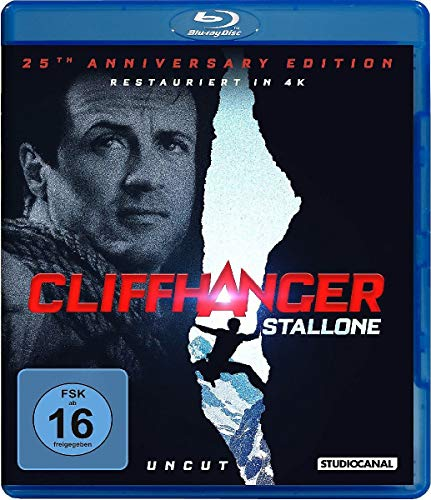 Cliffhanger / 25th Anniversary Edition / Uncut [Blu-ray]