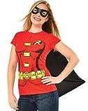 Rubie 's Offizielles Damen Robin T-Shirt Set, Erwachsene Kostüm–Kleine