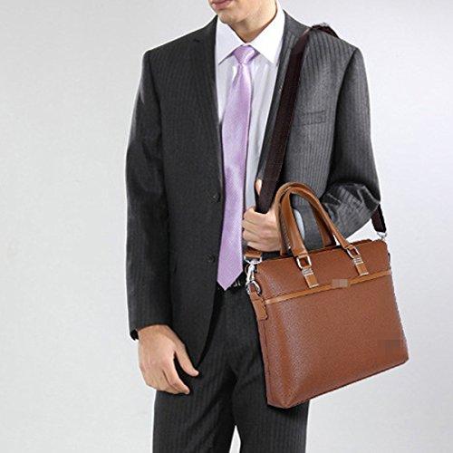 Art Und Weise Bewegliche Praktisches Business Casual Einzelne Schulterbeutel Schulranzen Geschäft Schulranzen Für Mann Yellow