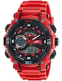 Sonata Digital Black Dial Men's Watch-77070PP02