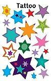 Avery Zweckform 56390 Tatuaggi temporanei per bambini, motivo animali, dermatologicamente testati, 11 pezzi 18 Designs Stella