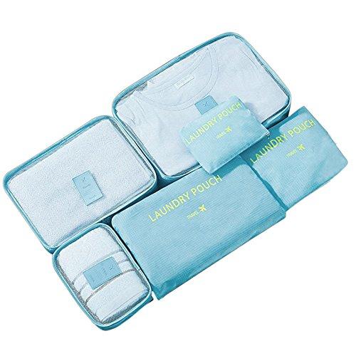 Starall - Organizador para maletas  Azul azul celeste