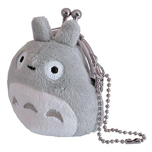 Felpa Totoro Pequeño Monedero gris Anime Studio Ghibli