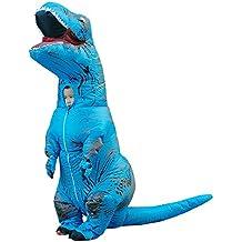 Anself - Divertido Disfraces Inflable de Dinosaurio para Infantiles de 1,2m-1,5m
