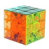 Magische 3 x 3 x 3 Geschwindigkeit Transparent Kristall Magischer