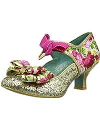 Poetic Licence by Irregular Choice Apple Spice, Zapatos de tacón con Punta Cerrada para Mujer