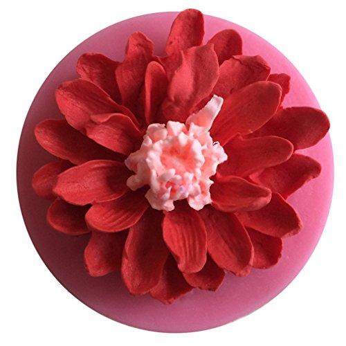 ODN Silikon Form zum Backen und Basteln, Mini-Blume, für Zuckerguss,KuchenDeko, Gießharz, Blütenpaste, Fondant (Blume 3)
