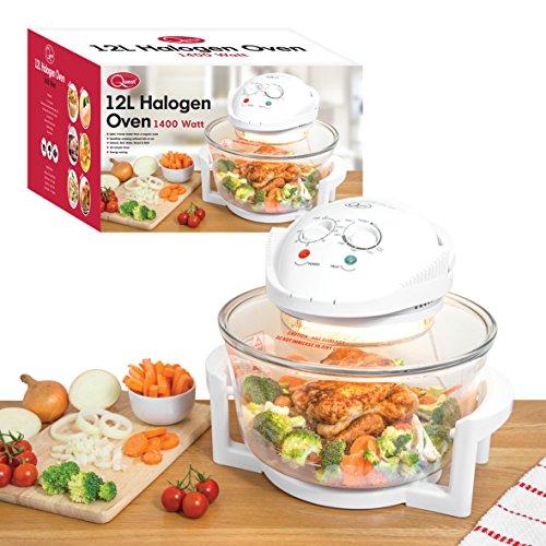 Quest 43890 Halogen Low Fat Oven Fryer, 1300 W, White