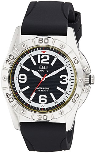 buy and compare q q q790 305y analog watch for men online lowest q q analog black dial men s watch