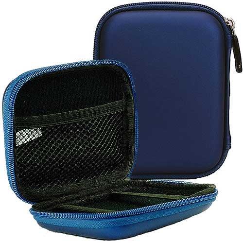 Wd Essential Externe Festplatte (ABZ-S Tasche für externe Festplatte Western Digital My Passport Essential / WD Elements Portable aus EVA-Hartschalenmaterial - blau)