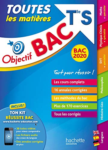 Objectif Bac 2020 Toutes les matières Term S