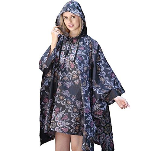 Adult Women's Raincoats Mountaineering Outdoor Hiking M Size Waterproof Cloak Poncho