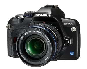 Olympus E-420 SLR-Digitalkamera (10 Megapixel, LifeView) Kit inkl. 14-42mm Objektiv