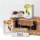 Hampstead clásico de Hampstead presentado en una cesta de mimbre - Ideas de regalos para...