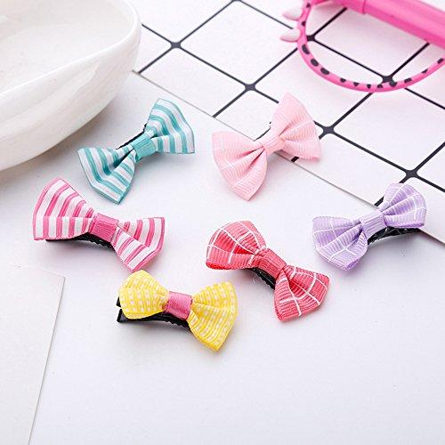 Slivercolor 18 Stück Baby Haarclips Haarspange Haarklammer für Mädchen, Kinder, junge Frauen