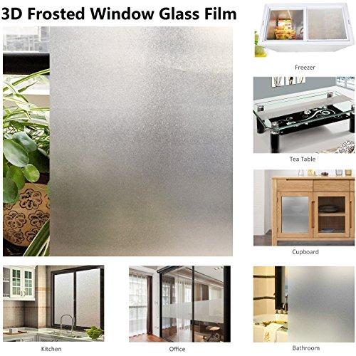 Selbsthaftende Milchglasfolie gefrostet Sichtschutz Window Film (Abnehmbare Fenster-folie)