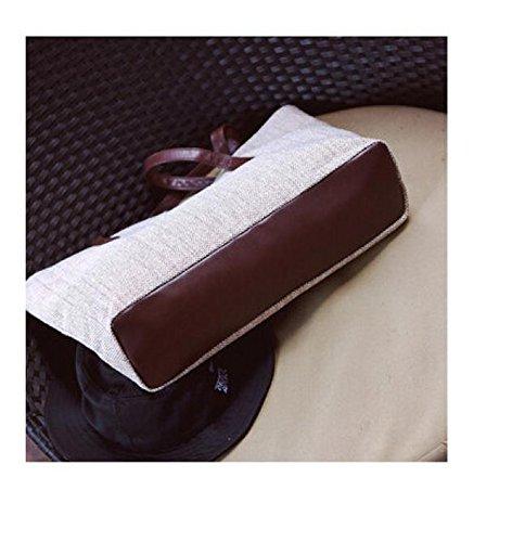 Longra Pure Borse tela di lino Beige