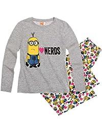 Minions Despicable Me Chicas Pijama - Gris