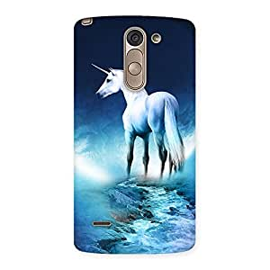 Enticing Unicorn Horse Print Back Case Cover for LG G3 Stylus