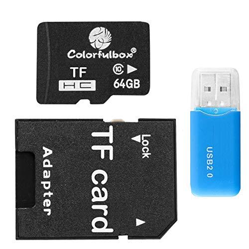 Speicherkarte Micro SD Karte 64GB für Mini Kamera