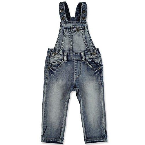 Babyface Baby Jungen Jeans-Latzhose, Blau, Größe 74