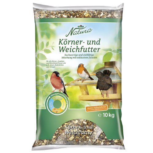 Dehner Natura Körner- und Weichfutter, 10 kg