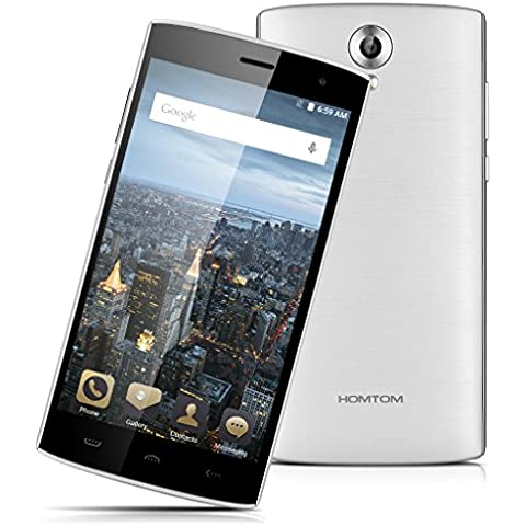 Homtom HT7 Pro 4G Lte - Smartphone Libre Android 5.1 (5.5'' HD, Dual Sim, Quad Core, 16Gb, 2Gb Ram, Hotknot Smart Wake Air Gestures, 8Mp),