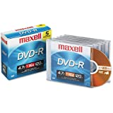 Maxell : Disc DVD-R 4.7GB For General Use Branded In Jewel Case 16Xbranded In Jewel Case 16X -:- Sold As 2 Packs Of - 1 - / - Total Of 2 Each