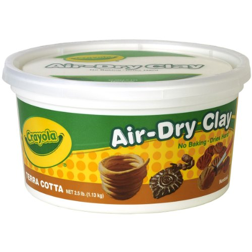 crayola-air-dry-clay-25lb-terra-cotta