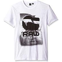 G-STAR RAW Lenk 1 Sp R T S/S, Camiseta para Hombre