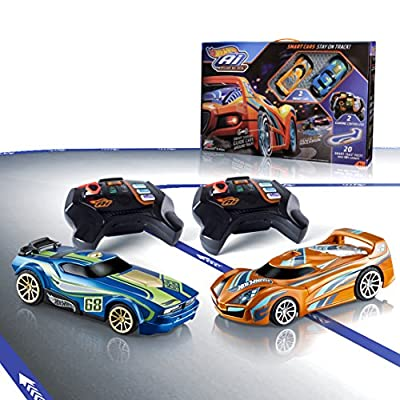 Hot Wheels - Circuito de carreras I.A. (Mattel FBL83) por Mattel Spain