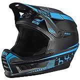 IXS Xact Fullface Helmet black/fluo blue Kopfumfang 57-59 cm 2017 Downhill Helme