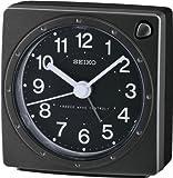 Seiko Unisex Wecker Analog Kunststoff schwarz QHR201K