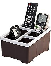KretixNew Mordern Remote Control Organizer Stand Shelf Rack Holder Universal TV DVD AC-Pink (1-PCS)