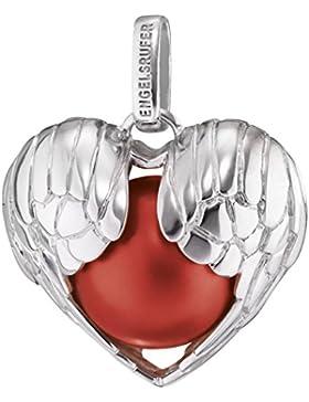 Engelsrufer Damen-Anhänger YOU TAKE MY HEART Flügelherz-925 Silber rhodiniert-ERP-05-WINGHEART