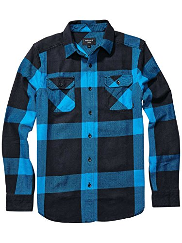 Nixon -  Camicia Casual  - Uomo Blu