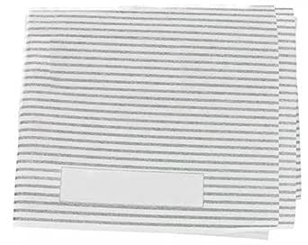 Cappa Universale Estrattore carta da filtro anti grasso indicatore di saturazione 2 Pack