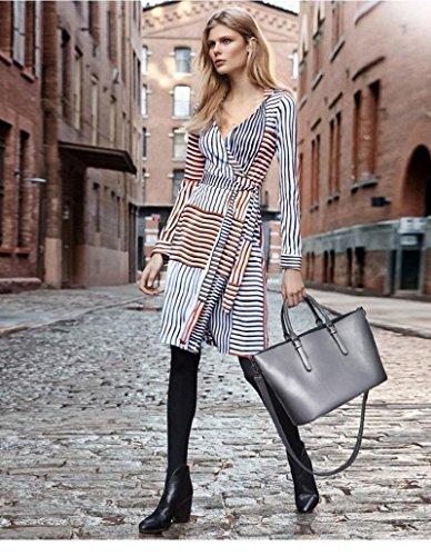 CELO moda europee e americane borse grande capacità di alta qualità sacchetto di spalla casuale Messenger bag Immagine , gray gray