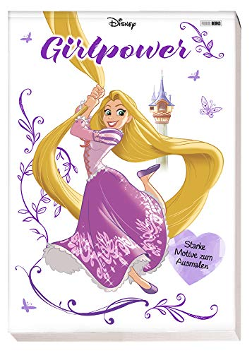 Disney Girlpower: Starke Motive zum Ausmalen