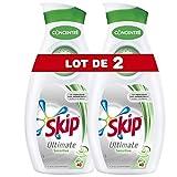 Skip Lessive Liquide Sensitive Peaux Sensibles & Bébés 80 Lavages (Lot de...