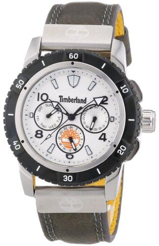 Timberland - TBL.13334JSTB/01 - Montre Homme - Quartz Analogique - Bracelet Cuir Gris