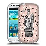 Head Case Designs Offizielle Vasare NAR Kaktus Darstellung 2 Soft Gel Hülle für Samsung Galaxy S3 III Mini