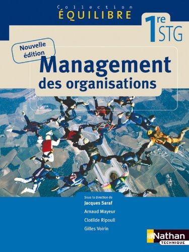 Management des organisations par Gilles Voirin, Arnaud Mayeur, Clotilde Ripoull