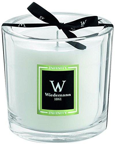 Wiedemann Black Edition Parfum Duftkerze Im Glas Infinity, Wachs, Olive, 12 x 11 cm (Olive Green Gläser)