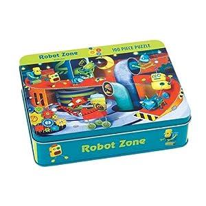 Mudpuppy - Puzzle coleccionable, diseño de robots (MPPM28679)