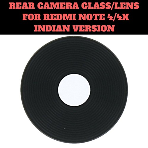 HUKATO.COM Back Rear Camera Glass Lens for Xiaomi MI Redmi Note 4 4X Indian Version